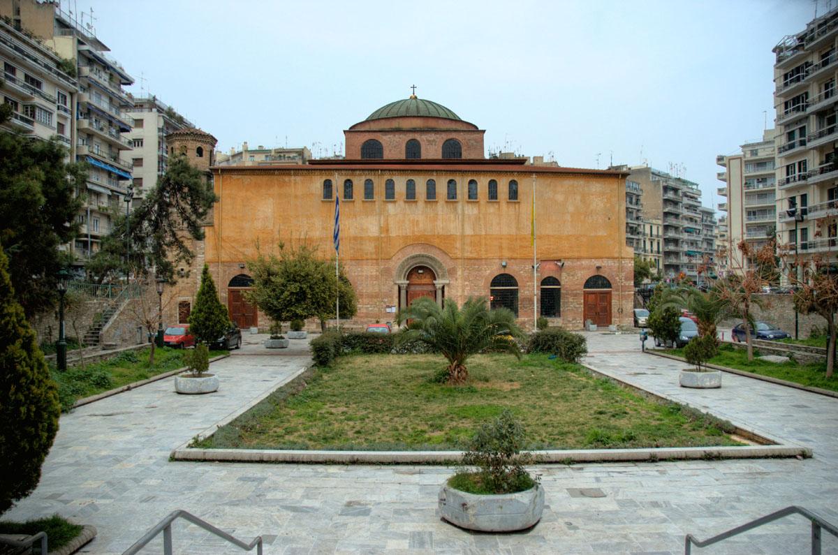 В грецию храм св софии в салониках